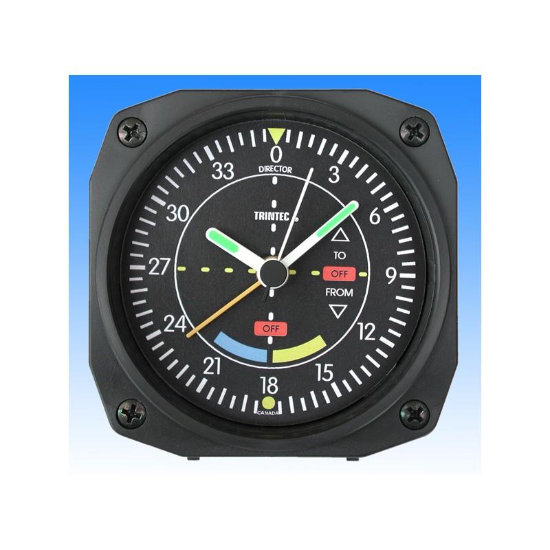 VOR style - réveil/Travel Alarm clock - 9x9cm