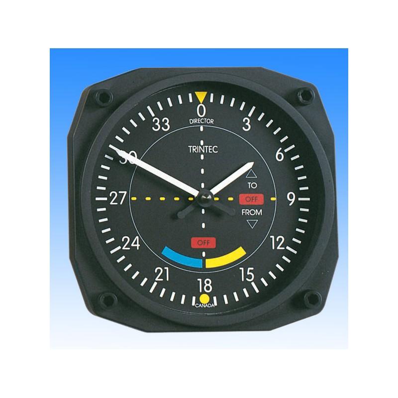 VOR style - Horloge Murale 17x17cm