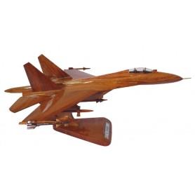 maquette avion bois - Sukhoi SU-27 Flanker