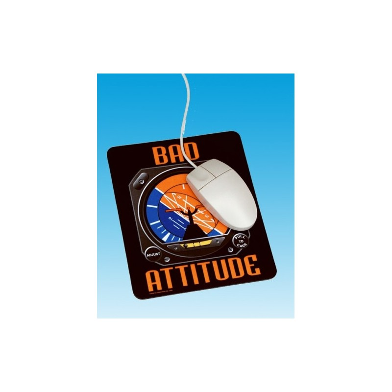 Bad Attitude Mousepad, Tapis souris 22.50x19cm -