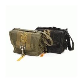 Sac reporter/bucket bag Military mode Noir/Black