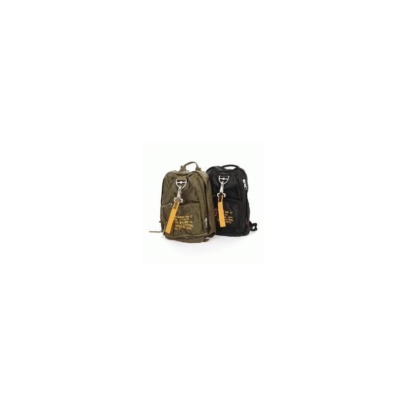 Traveling bag -Backpack City 6 / Town rucksack B52- Military Mode Noir/Black
