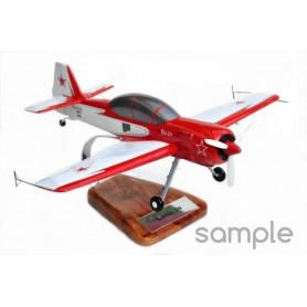 Personalisierte lackiertem Holz Modell