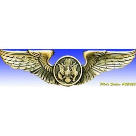 Metal badge -USAAF Air crew wings - Insigne - DJH