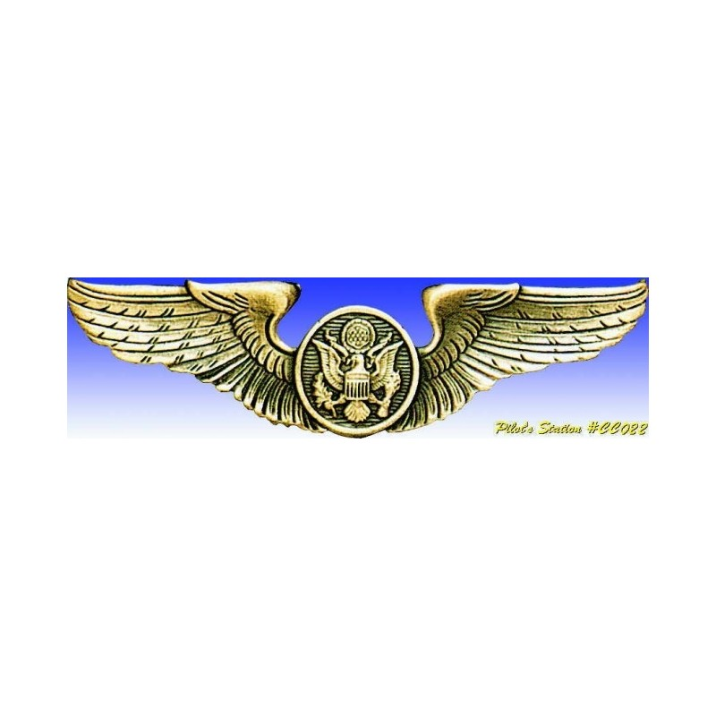 Insigne metal -USAAF Air crew wings - Insigne - DJH