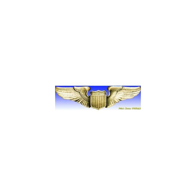 Insigne metal -USAAF Pilote Wings - Insigne - DJH