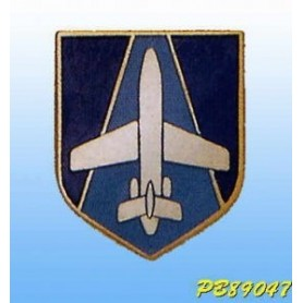 Metallplakette -Aerial Transport Police - Französisch badge