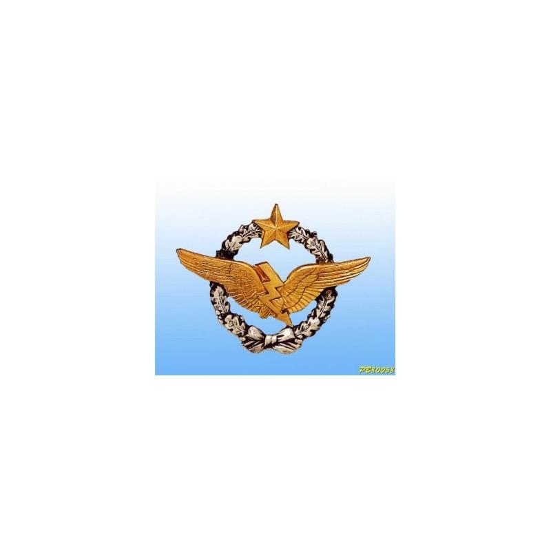 Metal badge -Radio - French patent