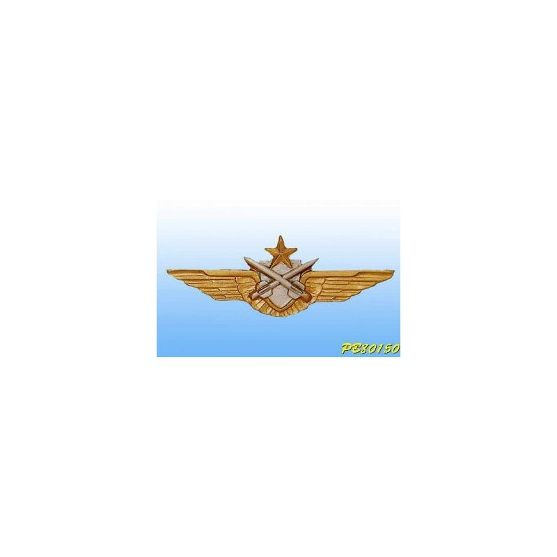 Insigne metal -Pilote-Tireur Missile ALAT - Brevet Français