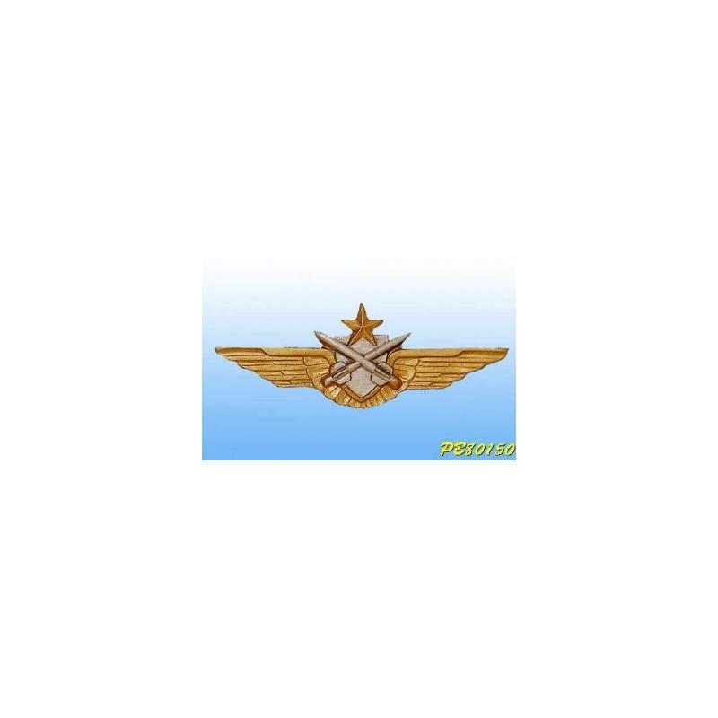 Metal badge -pilot-Tireur Missile ALAT - French patent