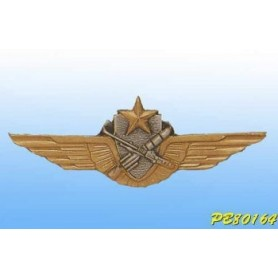 Metallplakette -Pilot-Tireur ALAT - Französisch-Patent
