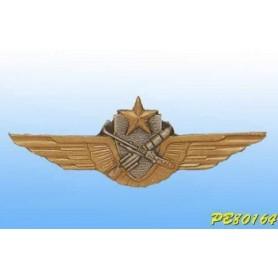 Insignia metal -Pilote-Tireur ALAT - Brevet Français