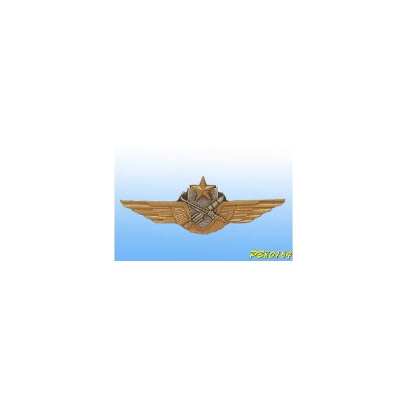 Metal badge -pilot-Tireur ALAT - French patent