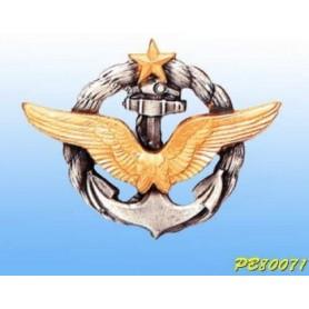 Metallplakette -Pilot Aéronavale - Französisch-Patent