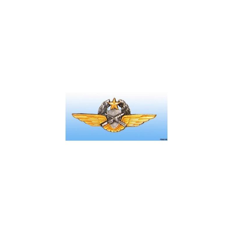 Metal badge -observer-pilot - Tireur ALAT - French patent