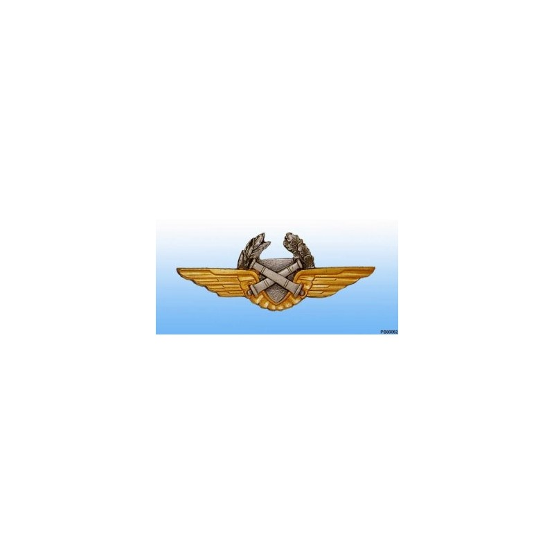 Metal badge -observer ALAT - French patent