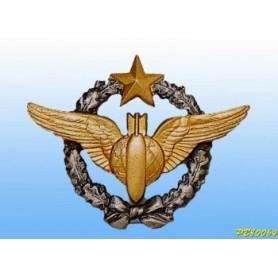 distintivo in metallo -navigatore-bombardiere- brevetto francese