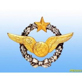 distintivo in metallo -navigatore - brevetto francese