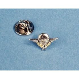 Metallplakette - Mini para-Patent Français- réduction 11mm/pin's