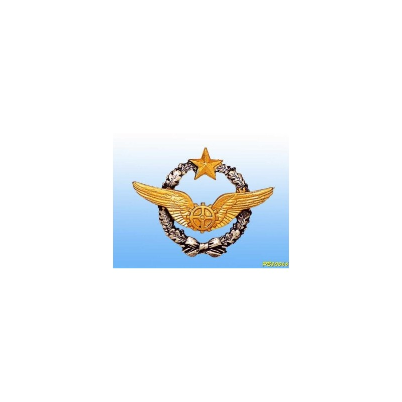 Metal badge - Mécanicien - French patent