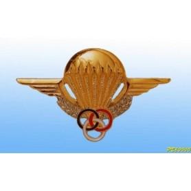 distintivo in metallo - brevetto Monitor Para Français