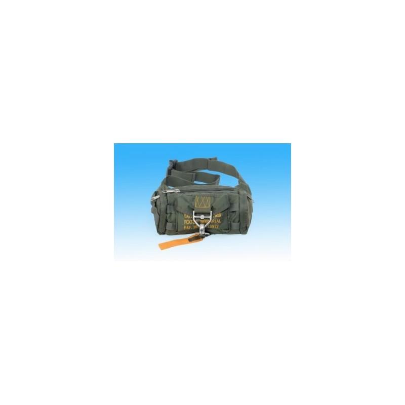 In viaggio borsa -marsupio 1 / Belt bag military mode Noir/Black