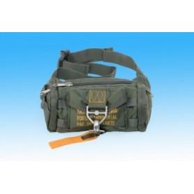 In viaggio borsa -marsupio 1 / Belt bag military mode - Vert / green