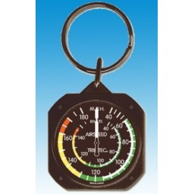 Airspeed Indicator / Badin Keychain - Porte cl�s