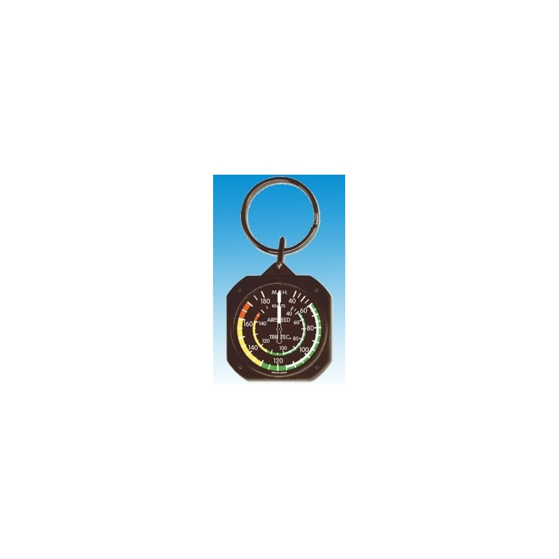 Airspeed Indicator / Badin Keychain - Porte clés
