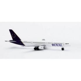 Plane metal model - Royal Aviations Boeing 757-200 - Herpa 1/500- 2002