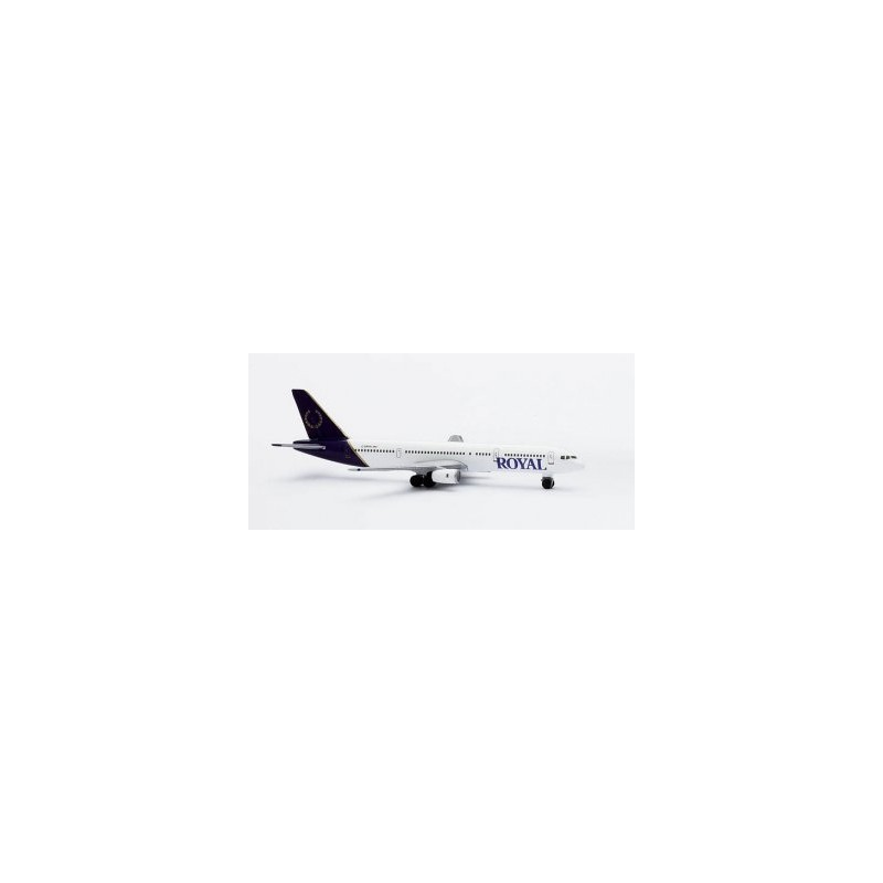 Maquette métal - Royal Aviations Boeing 757-200 - Herpa 1/500- 2002