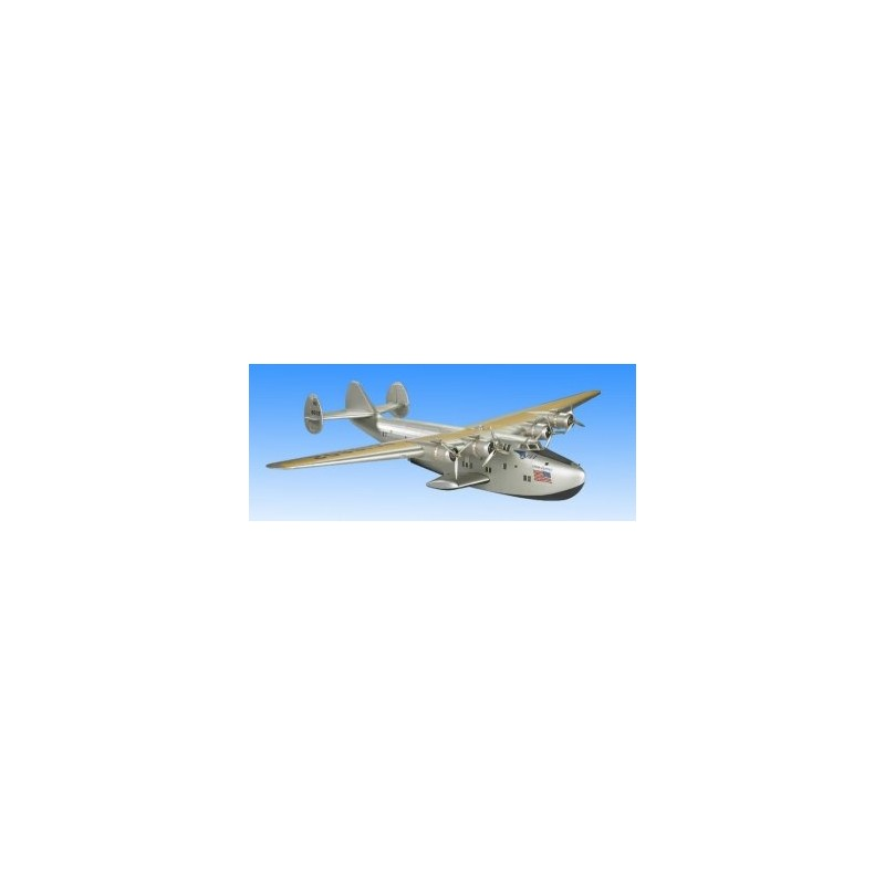 Model wood and canvas - Boeing 314 Clipper - 57.5x80x14cm - Authentic Models