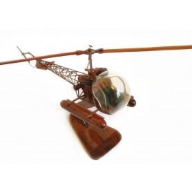 Bell 47D flotteurs