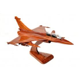 maquette avion bois - Rafale B bi-place St Dizier