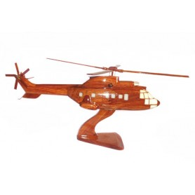 maquette helicoptere bois - Cougar AS-352