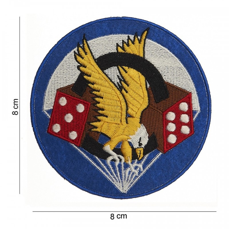 Embroidered patch - Eagle & tumdice