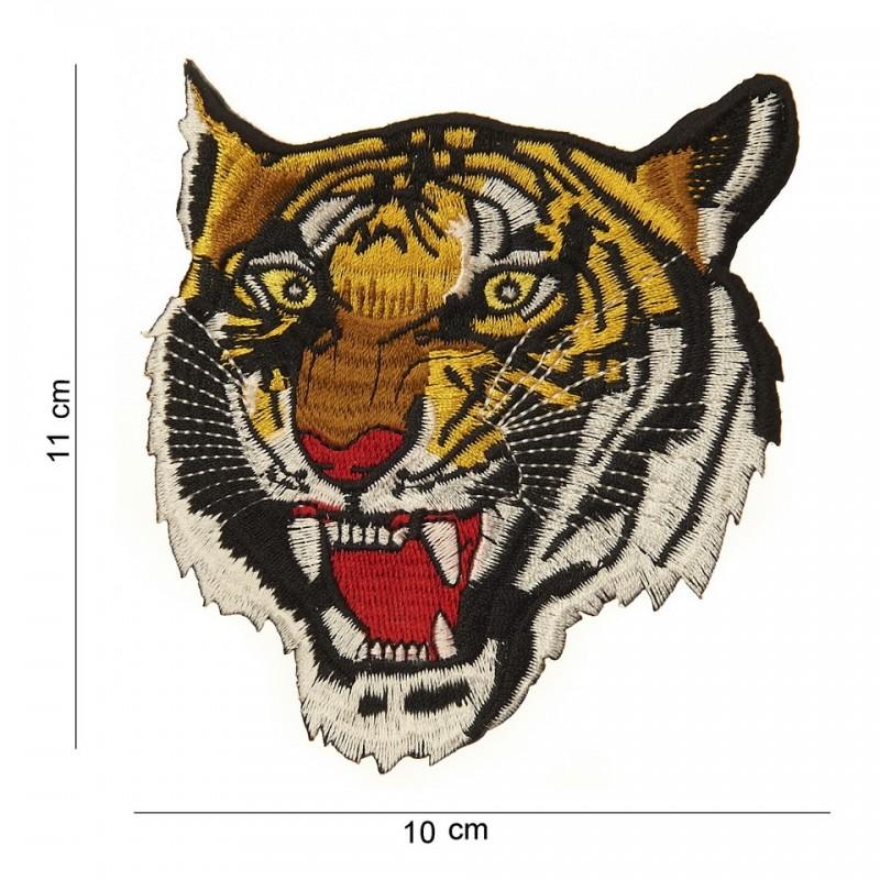 patch bordado de - Tiger face