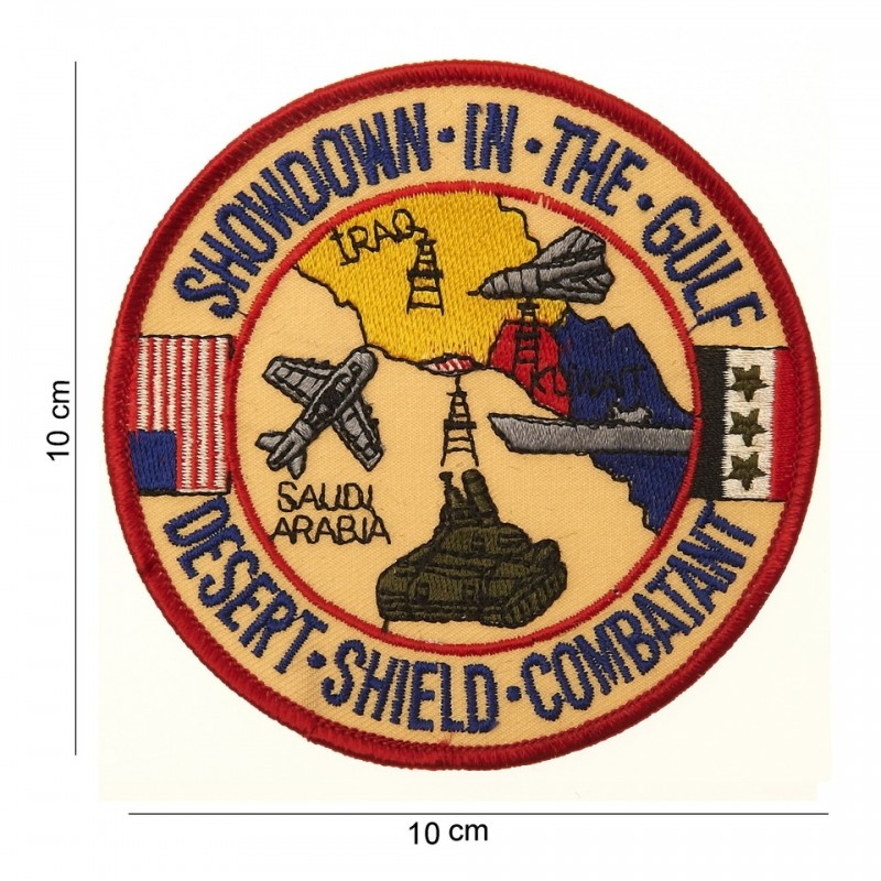 Embroidered patch - Showdown in the Gulf