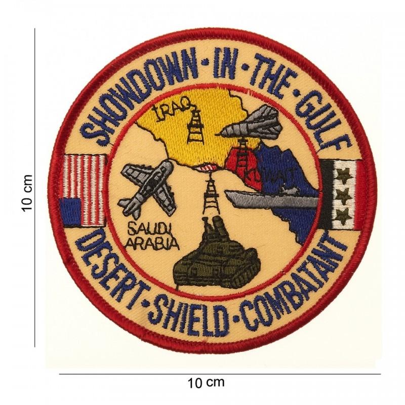 Showdown in the gulf - Ecusson
