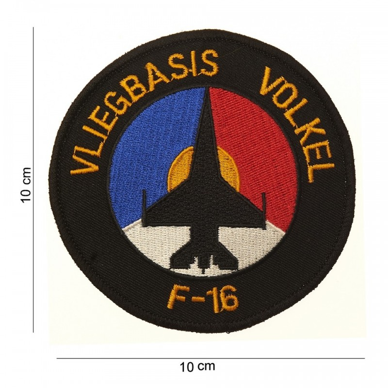 Embroidered patch - Vlegbasis Volkel F-16