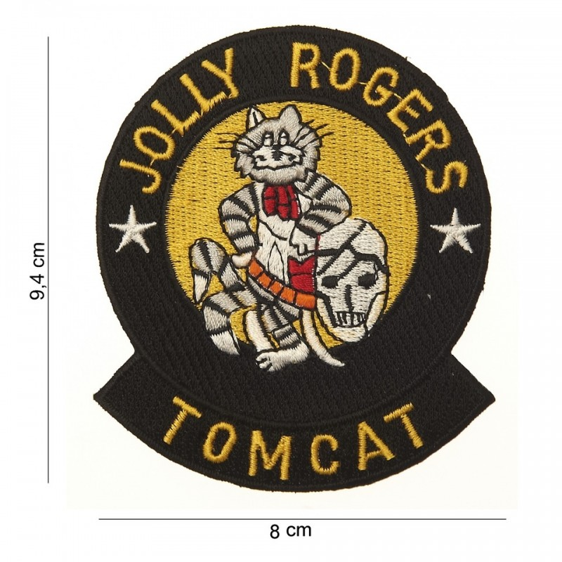 Embroidered patch - Jolly Rogers Tomcat