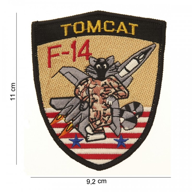 Embroidered patch - Tomcat F-14