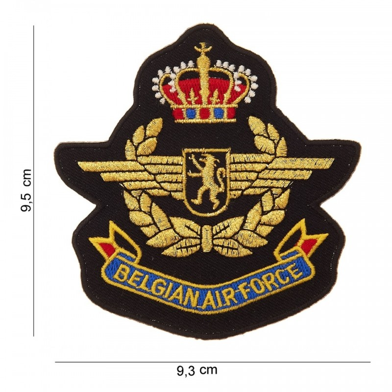 Embroidered patch - Belgium Air Force