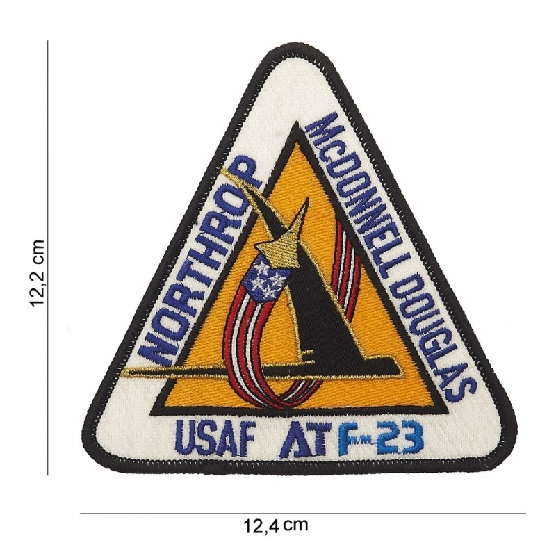 Embroidered patch - Northrop-Mc Donnel Douglas-USAF AT F-23