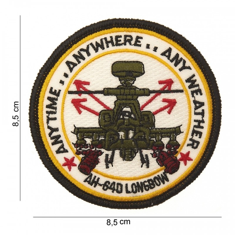 Embroidered patch - AH 64D Longbow