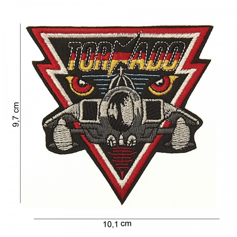 Embroidered patch - Tornado