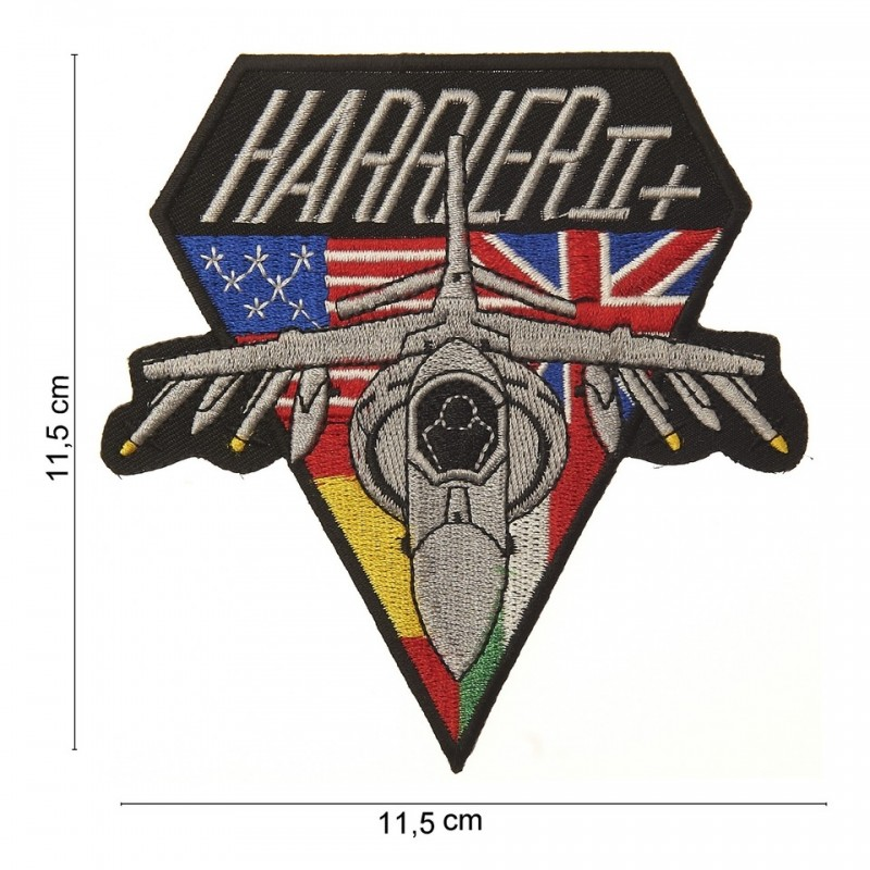 Embroidered patch - Harrier II