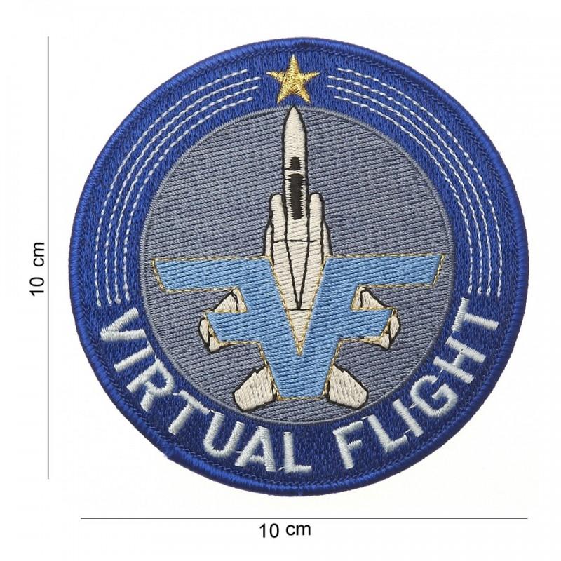Virtual flight - Ecusson