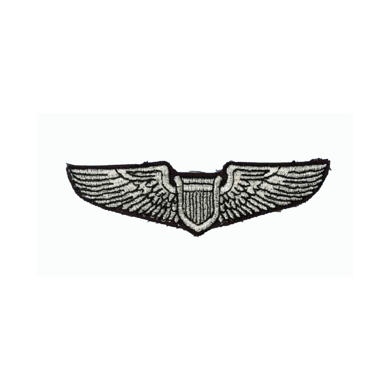 patch bordado de - USAF Pilot Wing - Patche 9.5 x 2cm