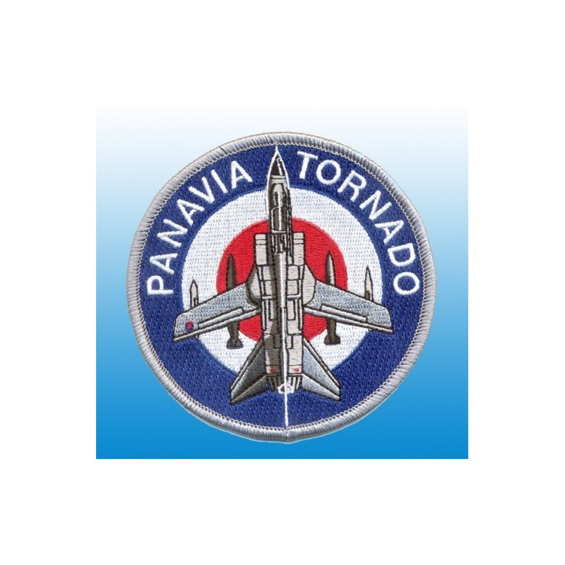 Embroidered patch - Panavia Tornado - Patche 10cm